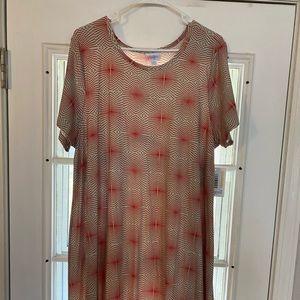 Lularoe NWT Carly dress (leggings material)